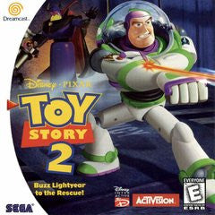 Toy Story 2 Buzz Lightyear to the Rescue (Sega Dreamcast) Pre-Owned: Game, Manual, and Case