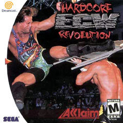 ECW Hardcore Revolution (Sega Dreamcast) Pre-Owned: Game, Manual, and Case