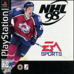 NHL '98 (Playstation 1) Pre-Owned: Game, Manual, and Case