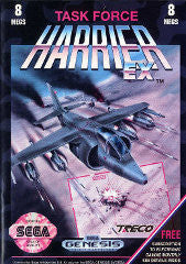 Task Force Harrier  (Sega Genesis) Pre-Owned: Game, Manual, and Case