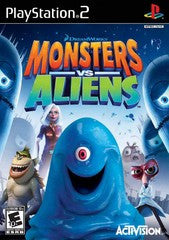 Monsters vs. Aliens (Playstation 2 / PS2) Pre-Owned: Game and Case