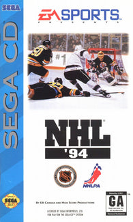 NHL Hockey 94 (Sega CD) Pre-Owned: Game, Manual, and Case