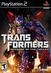 Transformers: Revenge of the Fallen (Playstation 2 / PS2) Pre-Owned: Game, Manual, and Case