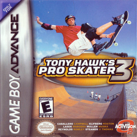 Tony Hawk's Pro Skater 3 (Nintendo Game Boy Advance) Pre-Owned: Cartridge Only