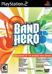 Band Hero (Playstation 2 / PS2) Pre-Owned: Game, Manual, and Case