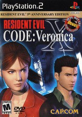 Resident Evil Code Veronica X (Playstation 2 / PS2) Pre-Owned: Game, Manual, and Case