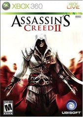 Assassin's Creed II (Xbox 360) Pre-Owned: Game, Manual, and Case