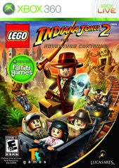 Lego Indiana Jones 2: The Adventure Continues (Xbox 360) Pre-Owned: Game, Manual, and Case