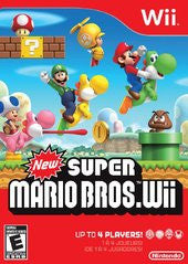 New Super Mario Bros. Wii (Nintendo Wii) Pre-Owned: Game, Manual, and Case