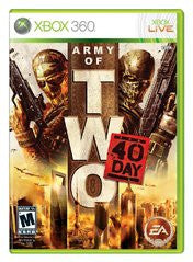 Army of Two: The 40th Day (Xbox 360) Pre-Owned: Game, Manual, and Case