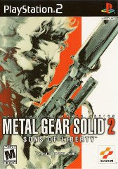 Metal Gear Solid 2 (Playstation 2 / PS2) Pre-Owned: Game, Manual, and Case