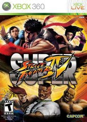 Super Street Fighter IV (Xbox 360) Pre-Owned: Game, Manual, and Case