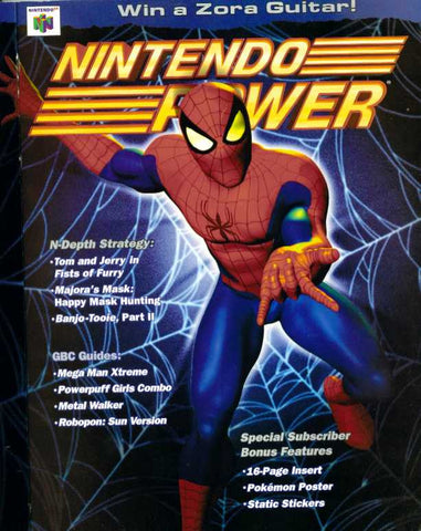 Issue: Jan 2001 / Vol 140 (Nintendo Power Magazine) Pre-Owned: Complete - Bagged & Boarded