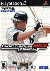 World Series Baseball 2K3 (Playstation 2 / PS2) Pre-Owned: Game, Manual, and Case