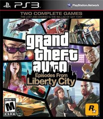 Grand Theft Auto: Episodes from Liberty City (Playstation 3) Pre-Owned: Game, Manual, and Case