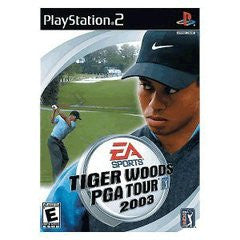Tiger Woods 2003 (Playstation 2 / PS2) Pre-Owned: Game, Manual, and Case