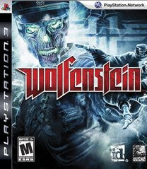 Wolfenstein (Playstation 3) Pre-Owned: Game, Manual, and Case
