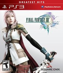 Final Fantasy XIII (Playstation 3) Pre-Owned: Game, Manual, and Case