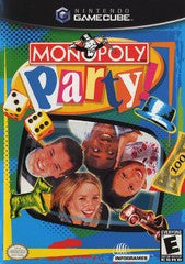 Monopoly Party (Nintendo GameCube) Pre-Owned: Game, Manual, and Case