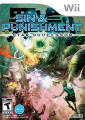 Sin and Punishment: Star Successor (Nintendo Wii) Pre-Owned: Game, Manual, and Case