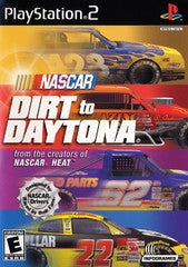 NASCAR Dirt to Daytona (Playstation 2) Pre-Owned: Game, Manual, and Case