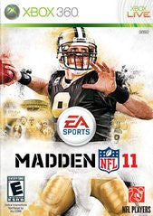 Madden NFL 11 (Xbox 360) Pre-Owned: Game, Manual, and Case