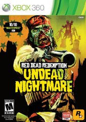Red Dead Redemption: Undead Nightmare (Xbox 360) NEW
