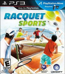 Racquet Sports (Playstation 3) Pre-Owned: Game, Manual, and Case