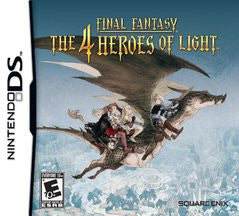Final Fantasy: The 4 Heroes of Light (Nintendo DS) Pre-Owned: Game, Manual, and Case