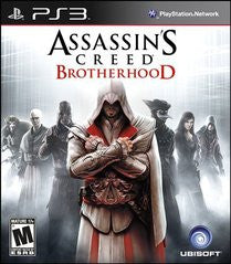 Assassin's Creed: Brotherhood (Playstation 3) Pre-Owned: Game, Manual, and Case