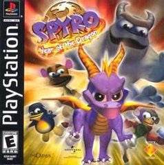 Spyro: Year of the Dragon (Playstation 1) Pre-Owned: Game, Manual, and Case
