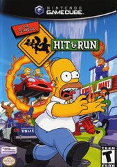 Simpsons Hit and Run (Nintendo GameCube) Pre-Owned: Game, Manual, and Case