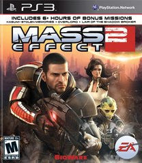 Mass Effect 2 (Playstation 3) Pre-Owned: Game, Manual, and Case