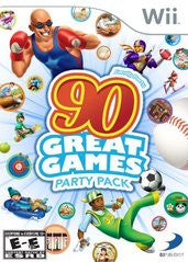 Family Party 90 Great Games (Nintendo Wii) Pre-Owned: Game, Manual, and Case