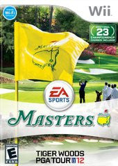 Tiger Woods PGA Tour 12: The Masters (Nintendo Wii) Pre-Owned: Game, Manual, and Case