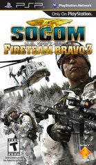 SOCOM: U.S. Navy SEALs Fireteam Bravo 3 (Playstation Portable / PSP) Pre-Owned: Game, Manual, and Case