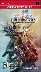 Final Fantasy Tactics: The War of the Lions (Playstation Portable / PSP) Pre-Owned: Game, Manual, and Case
