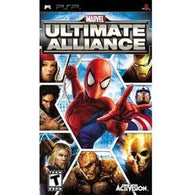 Marvel Ultimate Alliance (Playstation Portable /  PSP) Pre-Owned: Game and Case