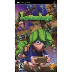 Lemmings (Playstation Portable PSP) Pre-Owned: Game, Manual, and Case