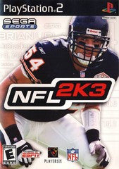 NFL 2K3 (Sega Sports) (Playstation 2 / PS2) Pre-Owned: Game, Manual, and Case