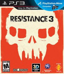 Resistance 3 (Playstation 3 / PS3) Pre-Owned: Game, Manual, and Case