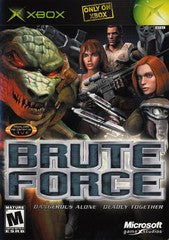 Brute Force (Xbox) Pre-Owned: Game, Manual, and Case
