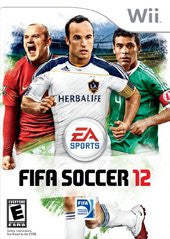 FIFA Soccer 12 (Nintendo Wii) Pre-Owned: Game, Manual, and Case