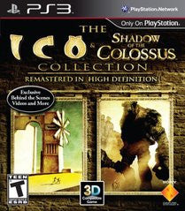 The ICO and Shadow of the Colossus Collection (Playstation 3) Pre-Owned: Game, Manual, and Case