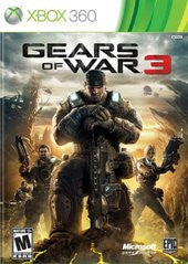 Gears of War 3 (Xbox 360) Pre-Owned: Game, Manual, and Case