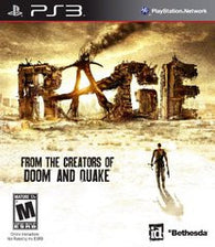 Rage (Playstation 3 / PS3) Pre-Owned: Game, Manual, and Case