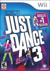 Just Dance 3 (Nintendo Wii) Pre-Owned: Game, Manual, and Case