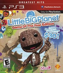 ittleBigPlanet - Game of the Year Edition (Playstation 3) Pre-Owned: Game, Manual, and Case