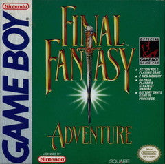 Final Fantasy Adventure (Nintendo Game Boy) Pre-Owned: Game, Manual, Poster, and Box