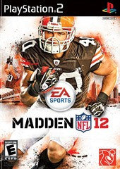 Madden NFL 12 (Playstation 2) Pre-Owned: Game, Manual, and Case